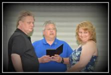 Steve, John and Lisa.